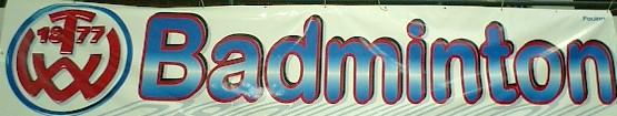 TVW Badminton Banner